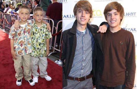 dylan and cole sprouse now and thenDylan And Cole Sprouse Then And Now 2014