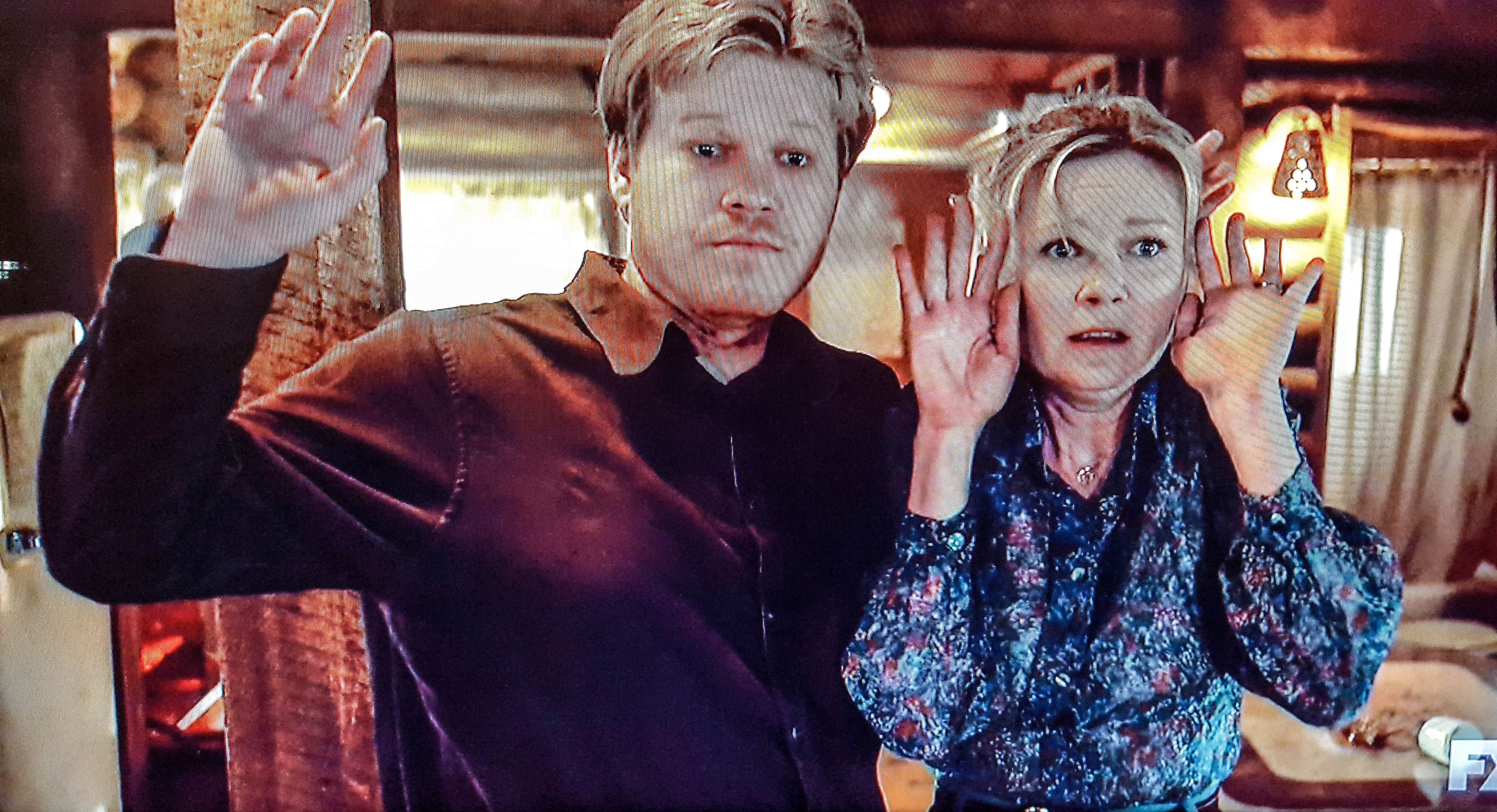 Ed and Peggy in an episode of Fargo called LopLop